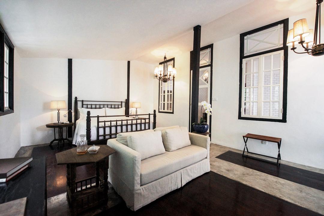 Villa Samadhi's top-tier Luxe Sarang suite.