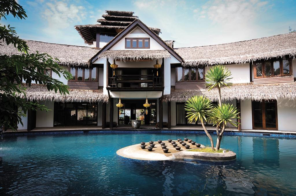 Rustic luxury at Villa Samadhi, Kuala Lumpur.
