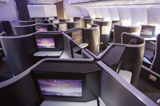 Seats come with 16-inch high-definition screens.