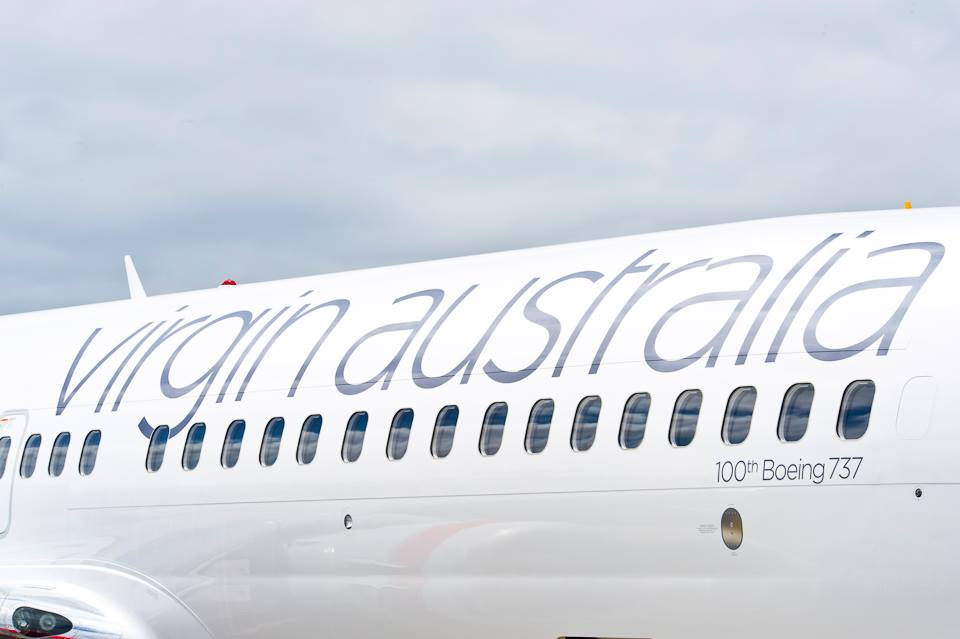Virgin Australia's Boeing 737.