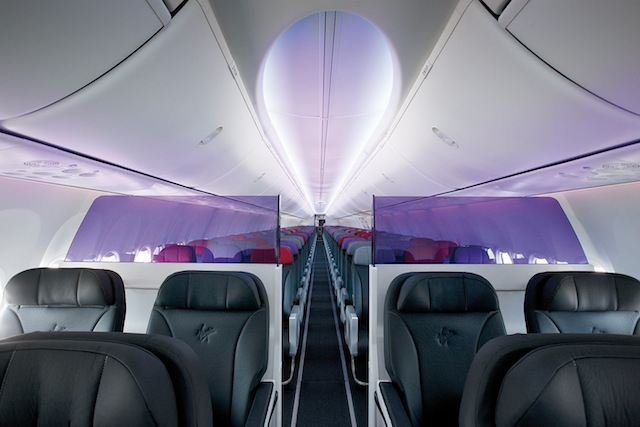 Ten of the airline's B737s are being refitted with business-class cabins.