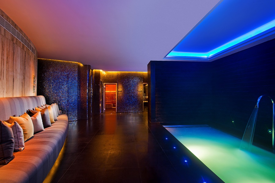 Vitality Pool in the Thermal Suite