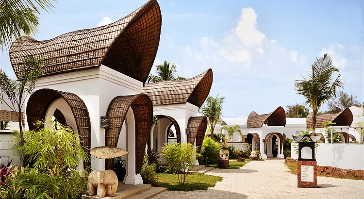 The resort is home to a total of 71 villas.