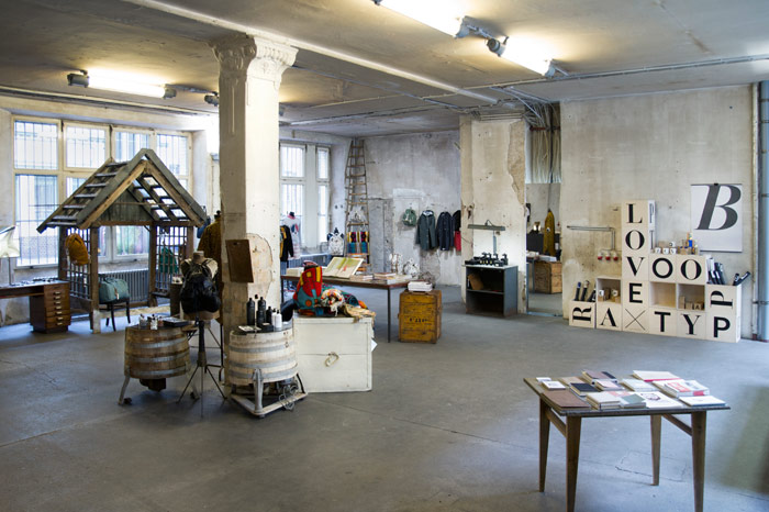 Voo Store is a high-ceilinged, airy fashion emporium.