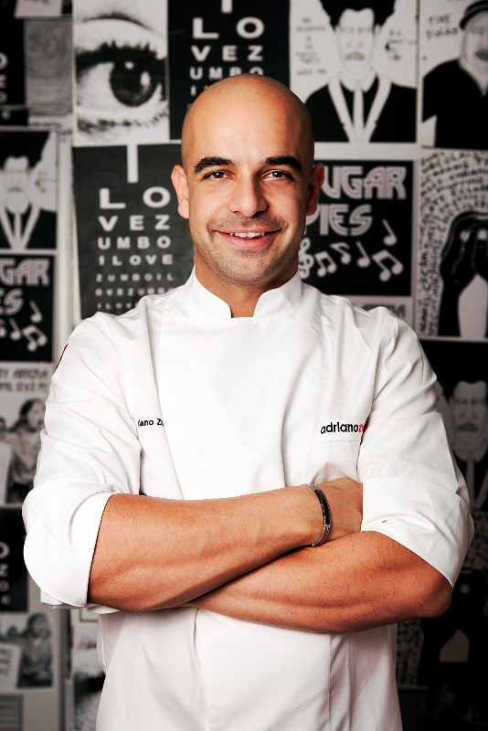Acclaimed pastry chef Adriano Zumbo will serve up whimsical delights.