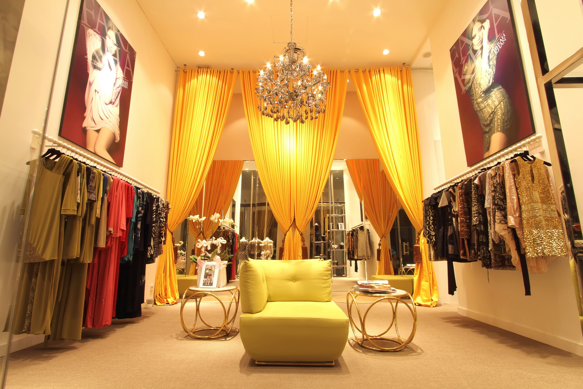 Farah Khan boutique at the W.