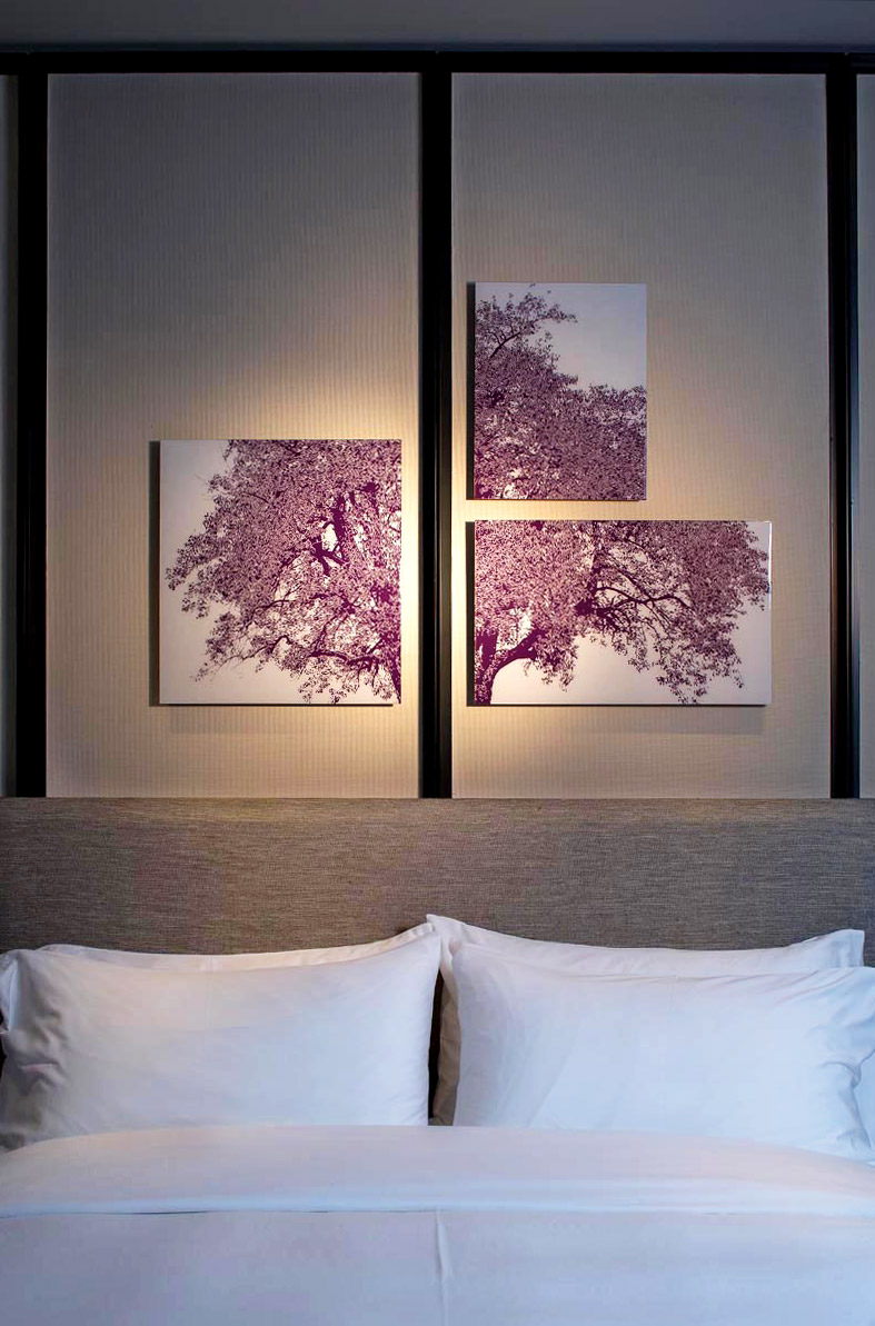 A room at the W Hotel Guangzhou.