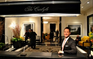 Waldo Hernandez, chief concierge at The Carlyle.