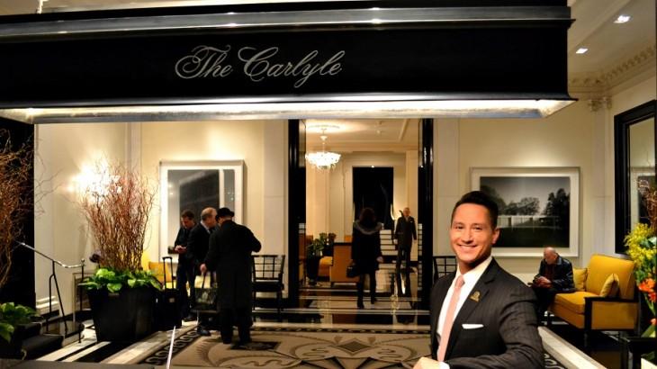 Waldo Hernandez, chief concierge at The Carlyle.