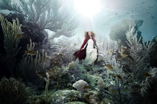 Andreas Franke's surreal works will be on display underwater.