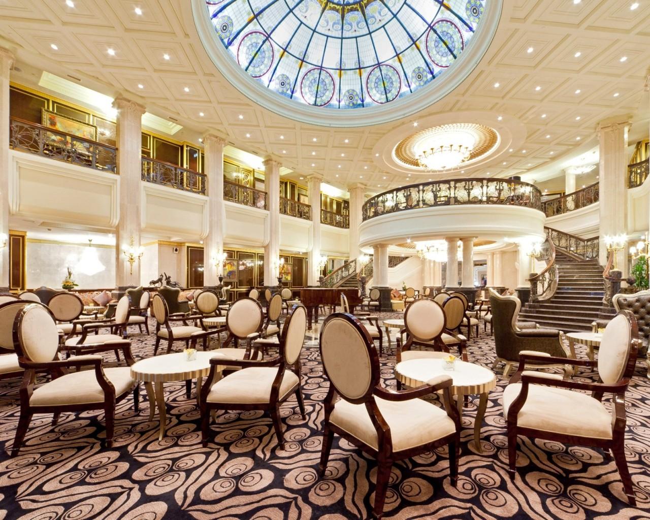 The Hotel Nikol'skaya Kempinski Moscow has just undergone a six-year renovation.