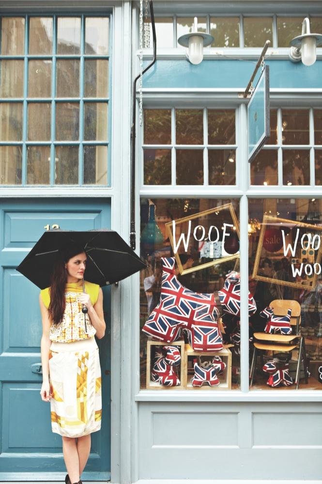 Window shopping in East London's Old SpitalfieldsMarket