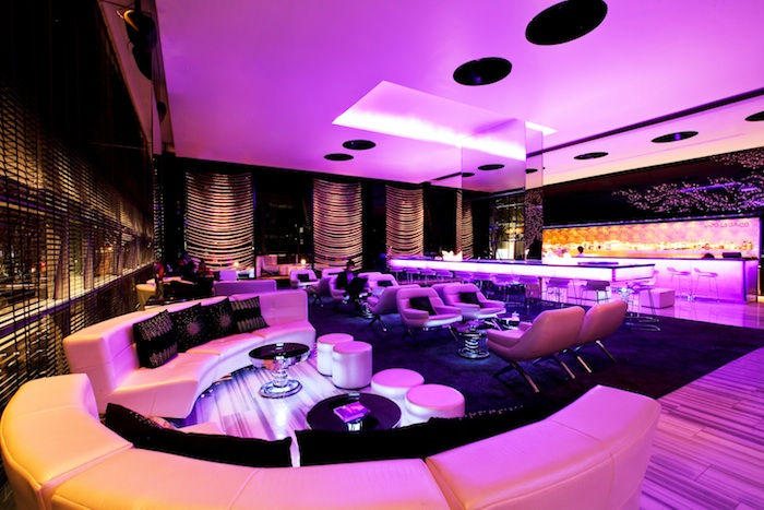 The interior of WOOBAR Bangkok.