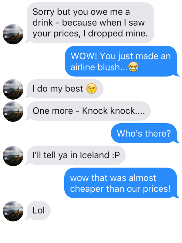 Winners are picked based on their creativity in using pick-up lines.
