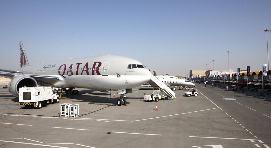 Qatar Airways' A319 jets will operate the Business One service.