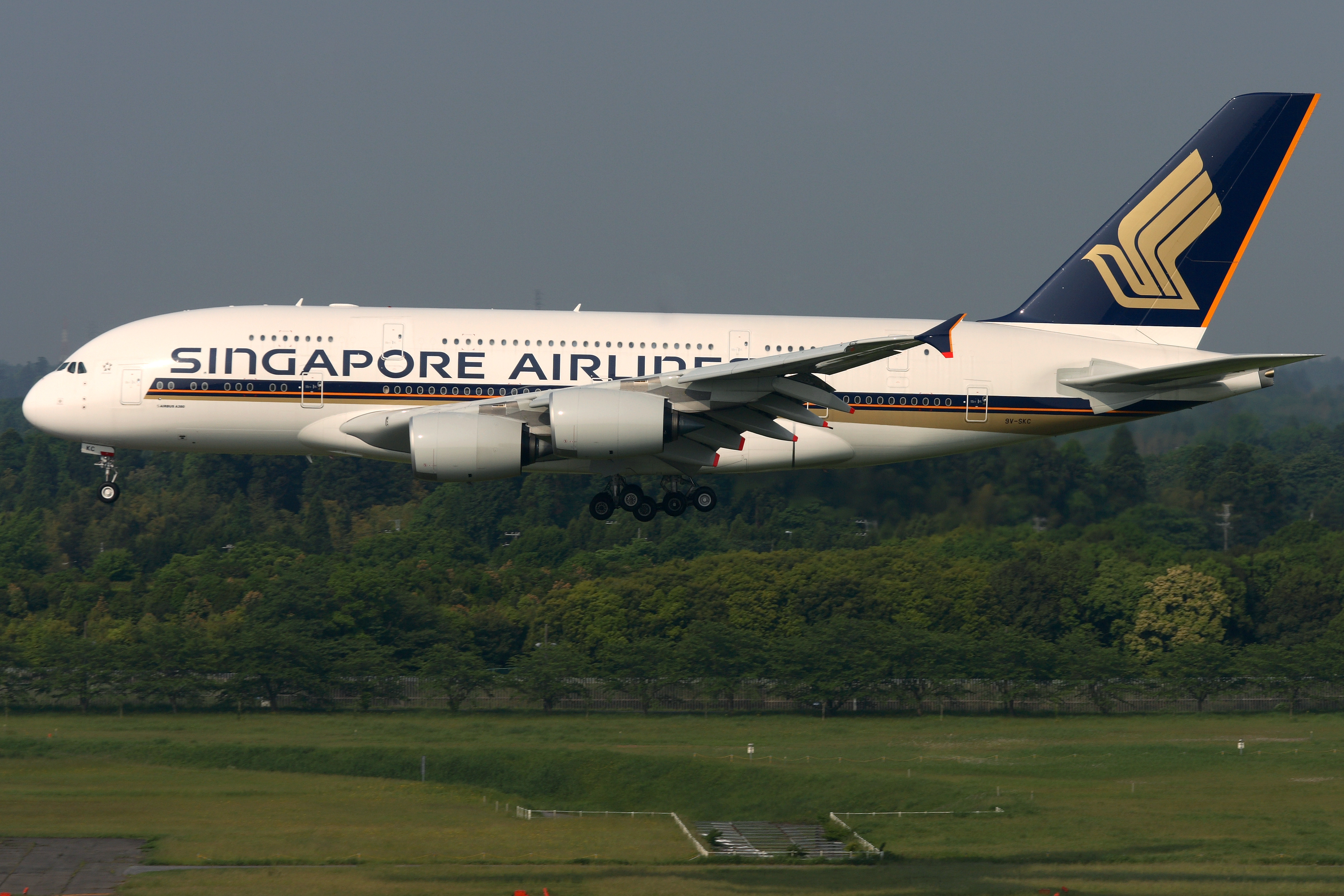 The Singapore Airlines Airbus A380 will operate daily flights between Singapore and Auckland.