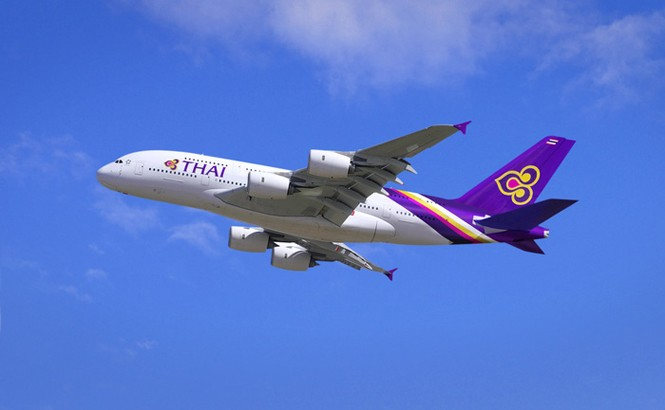Thai Airways' A380.