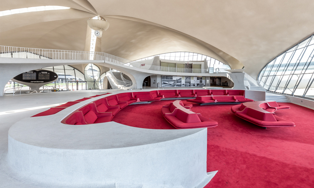 Abandoned JFK Airport Terminal to Reopen as the Luxurious TWA Hotel