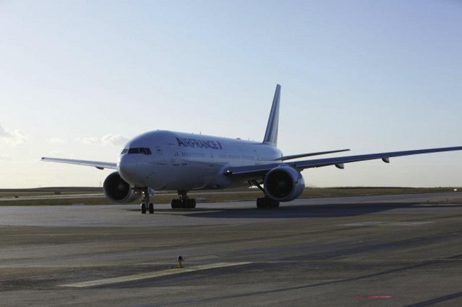Air France's Boeing 777-300.