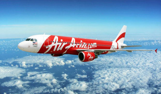 AirAsia airplane.