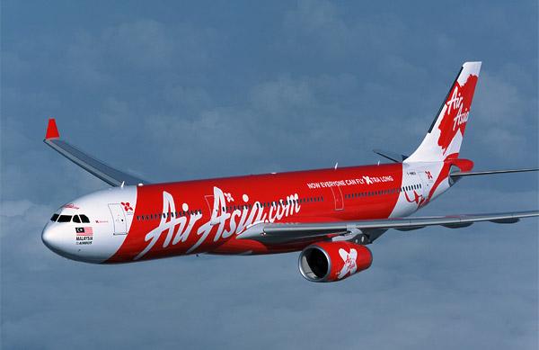 Air Asia's A330.