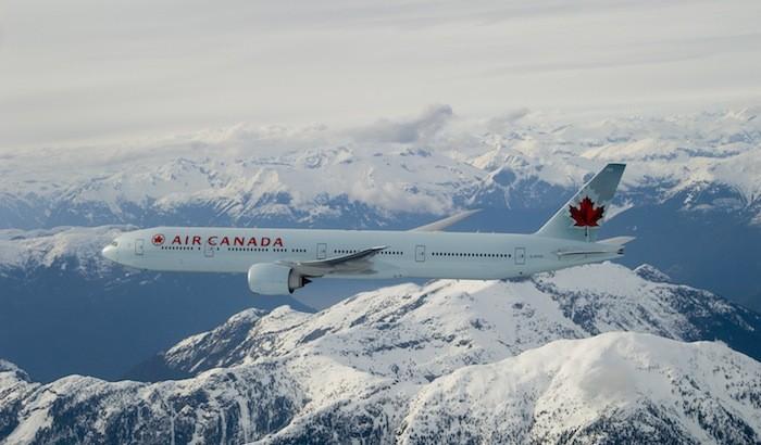 Air Canada's B777 fleet serves most international destinations.