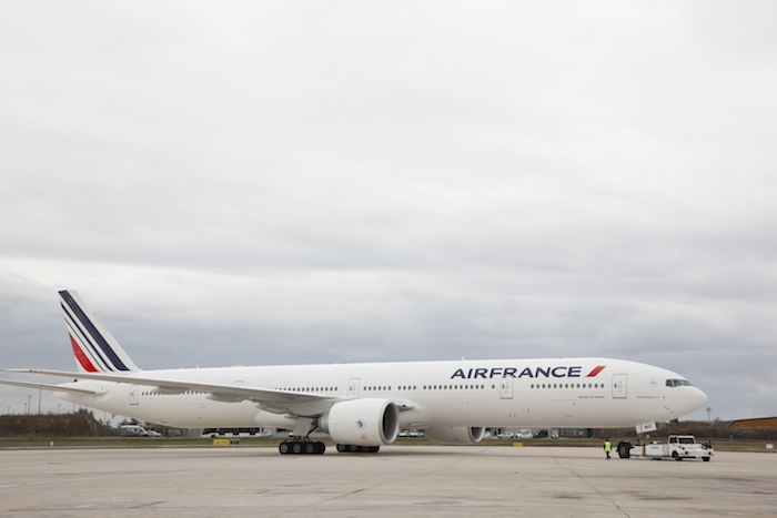 The Air France Boeing 777.