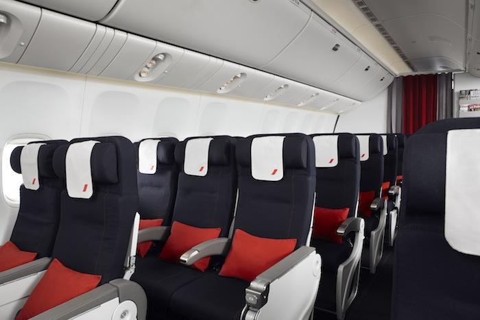 Air France's Economy Class.