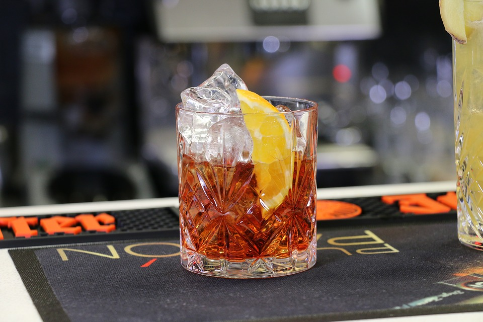 Order yourself a Negroni and donate to charity.