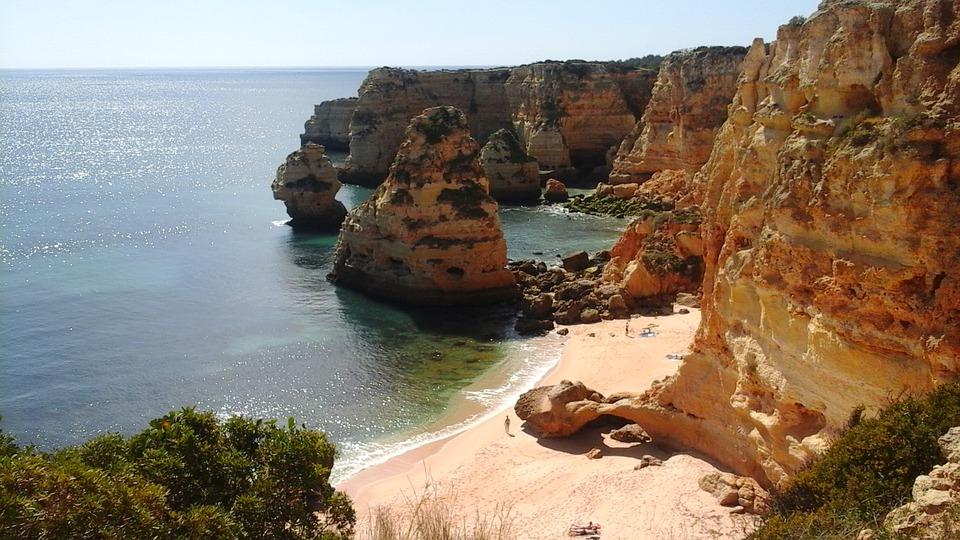 Algarve's signature rocks and caves.