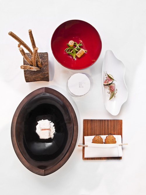 Chef André Chiang's re-imagining of petit fours.