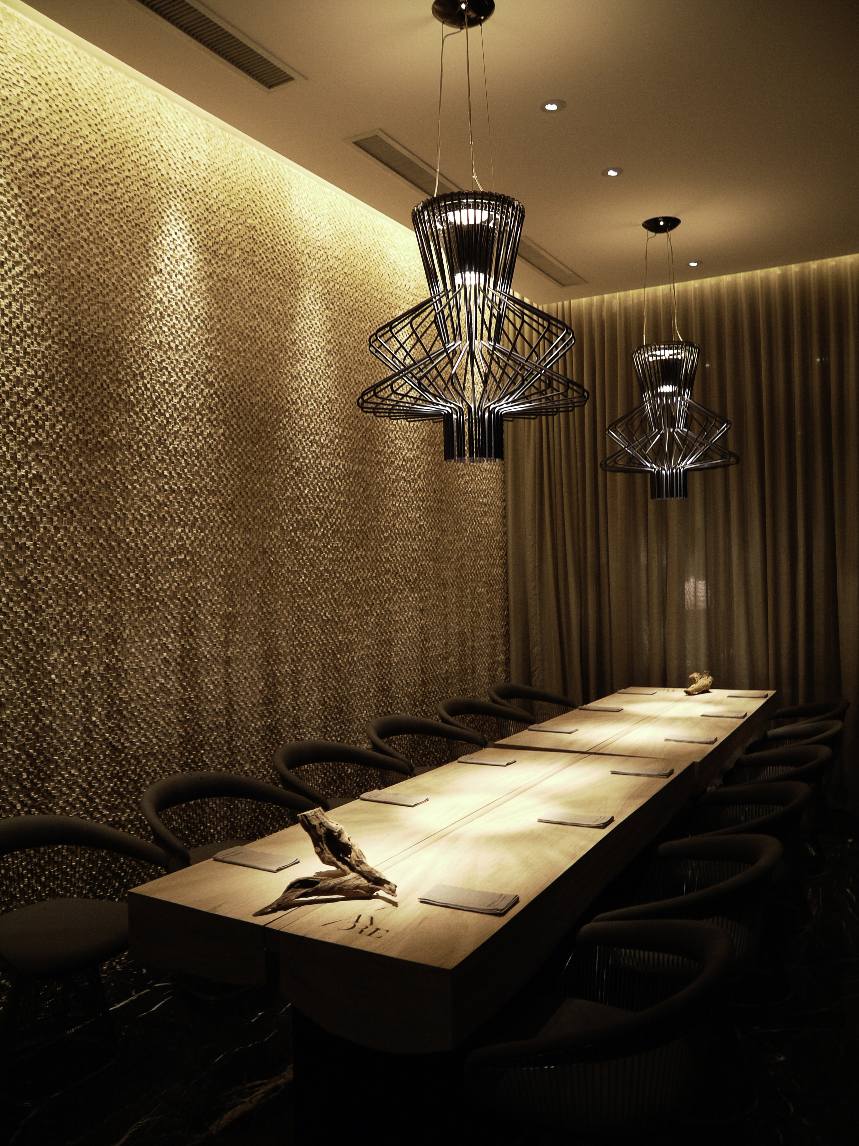 Ground floor private dining.