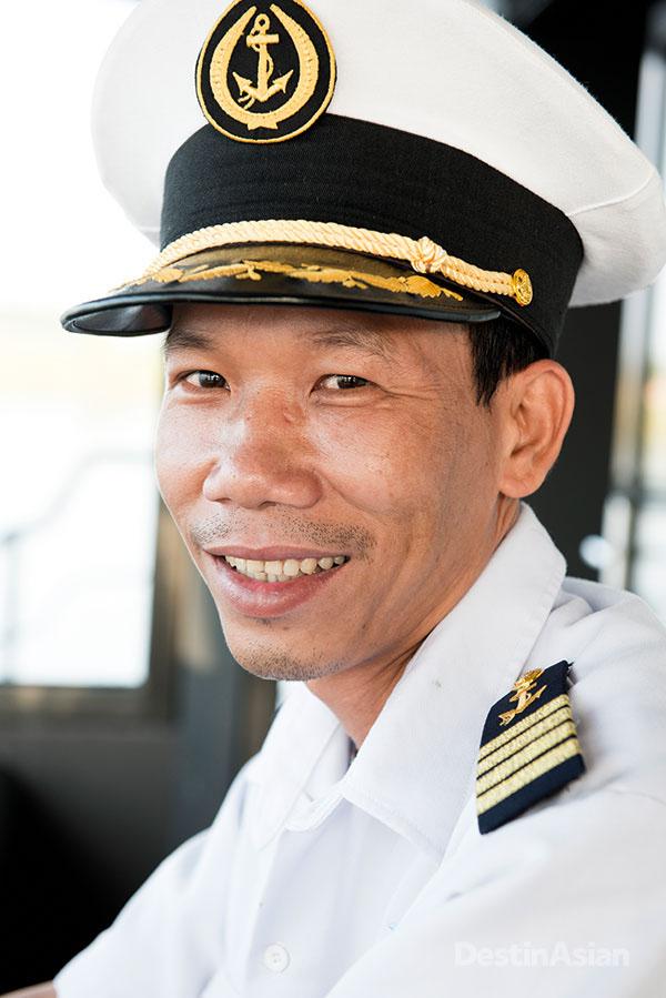 The boat's Vietnamese captain, Nguyen Ngoc Thu.