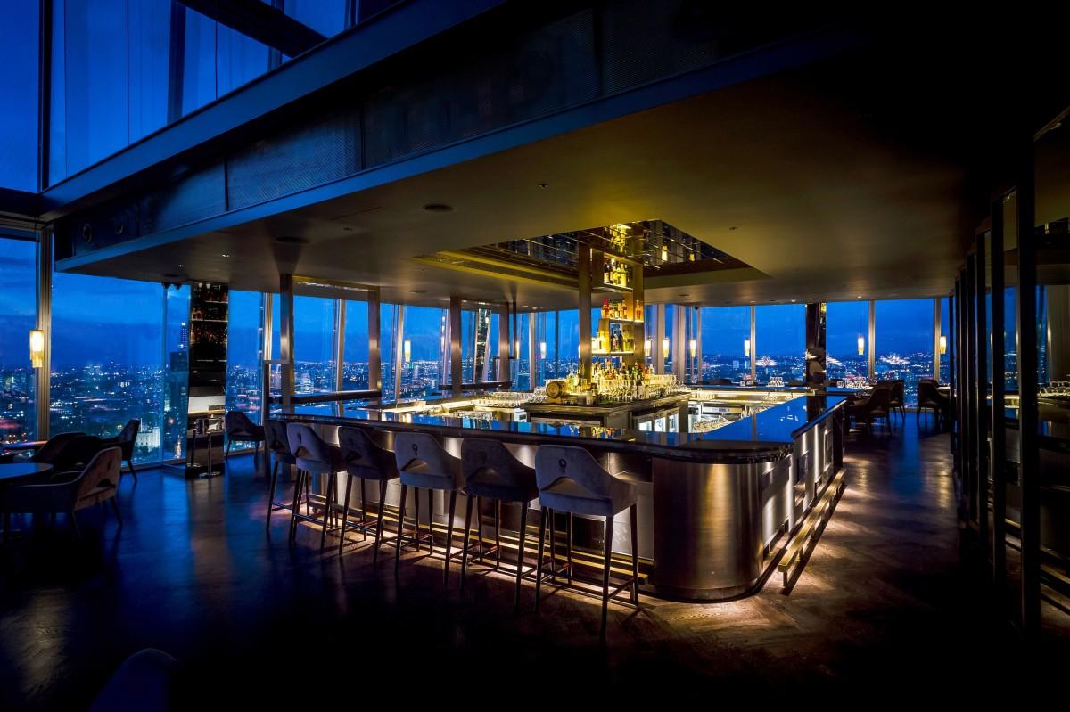 The Aqua Shard bar by Paul Winch-Furness.