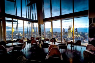A view from 31 floors up at the Aqua Shard by Paul Winch-Furness.