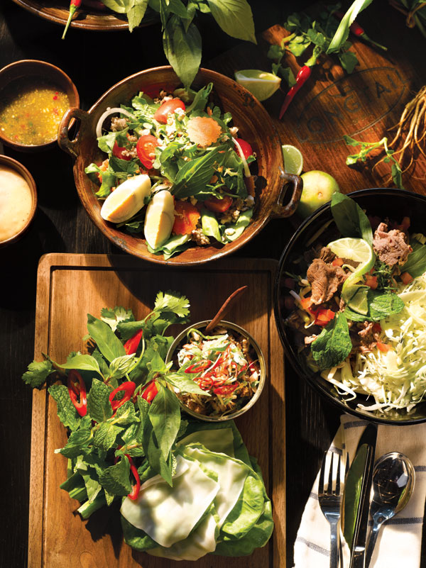 Laotian, Vietnamese, and Thai flavors at Longtail.
