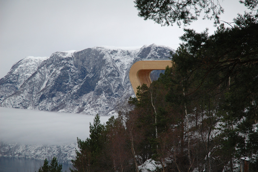 Norway's Aurland Lookout.