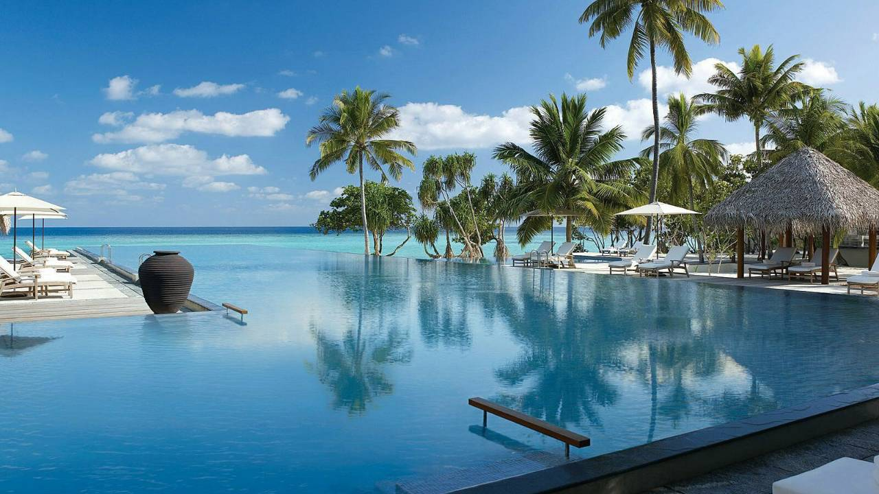 Although the program can be intense, the luxurious surrounds and care of the resort can help.