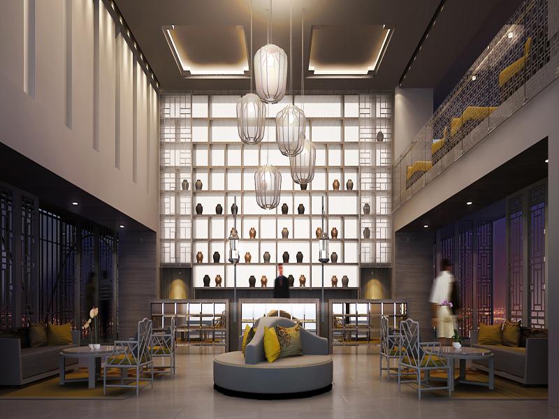 The lobby of the new Centra Bangkok.