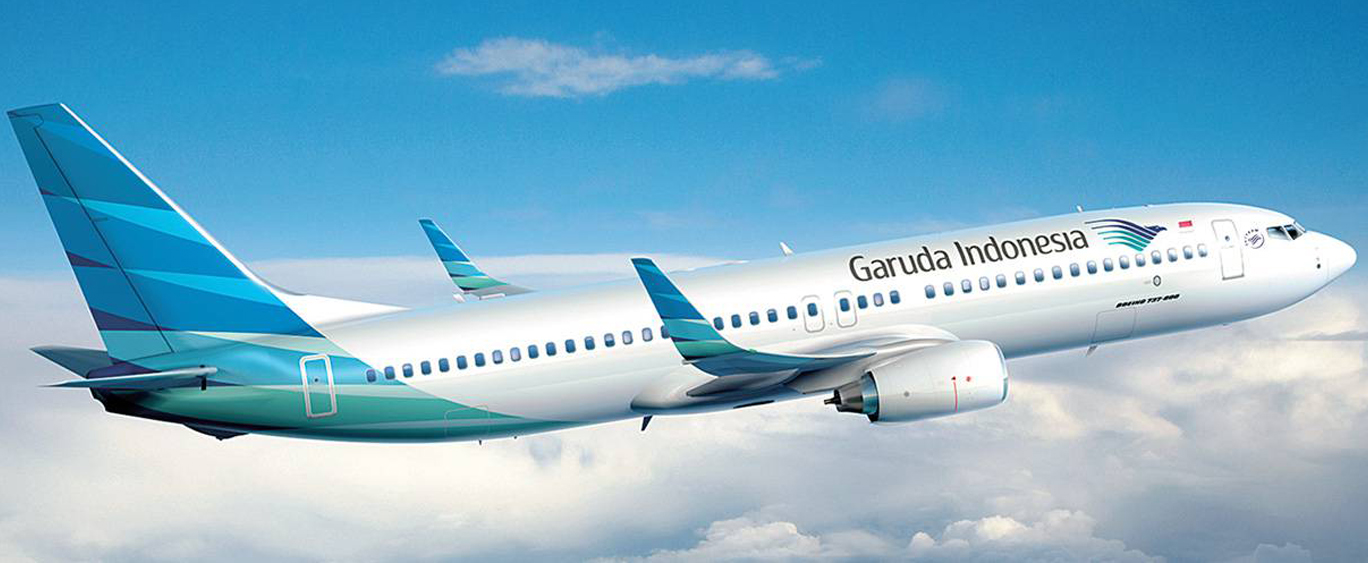 Photo courtesy of Garuda Indonesia.