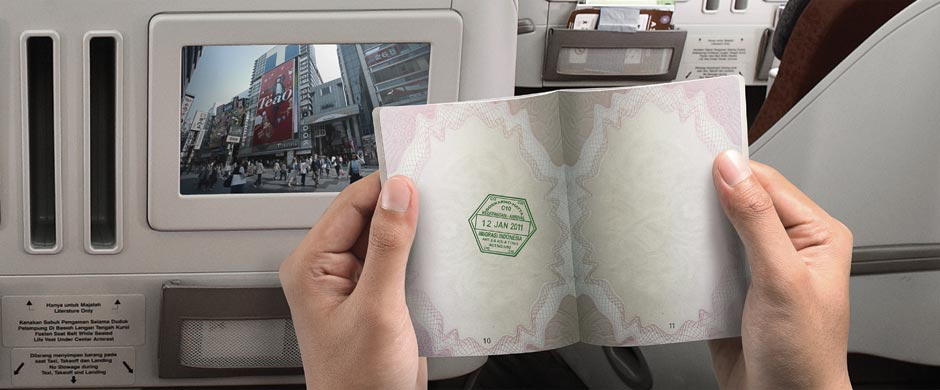 Zip through immigration aboard your flight.