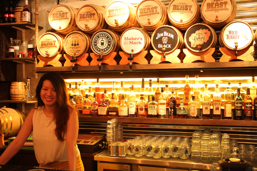 Owner Jamie Koh brings a taste of bourbon to Singapore.