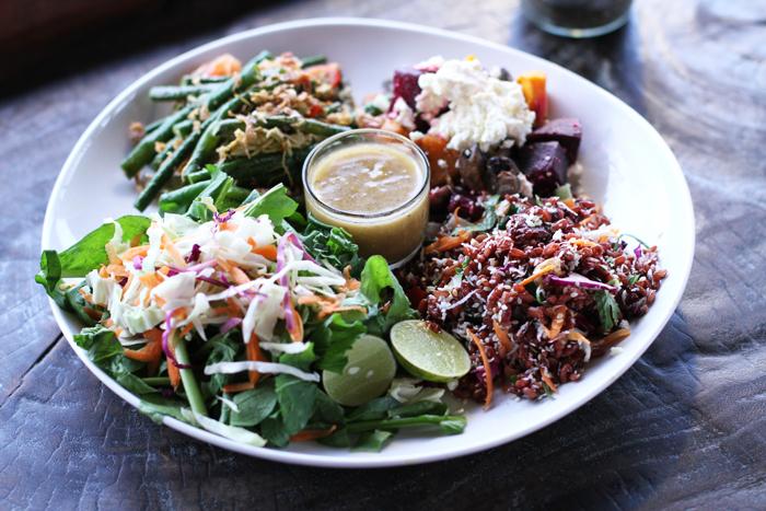 The Big Betelnut signature salad.