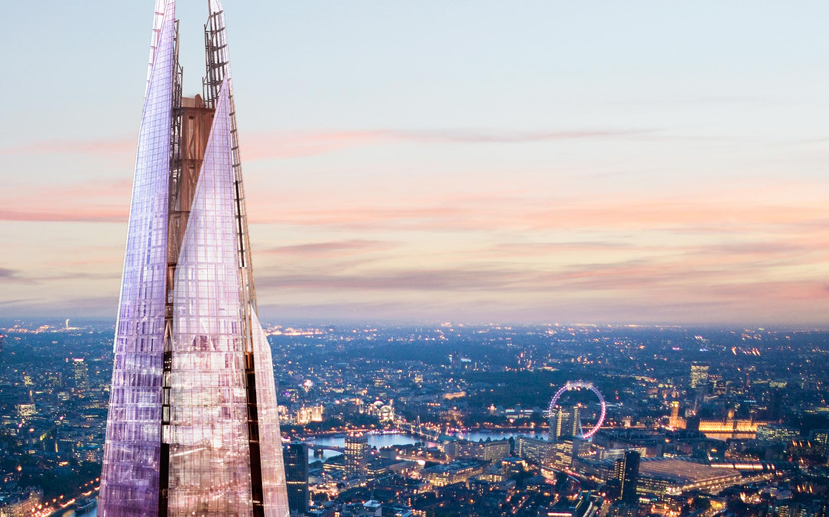 The viewing platform at The Shard is almost twice as high as any other in London.