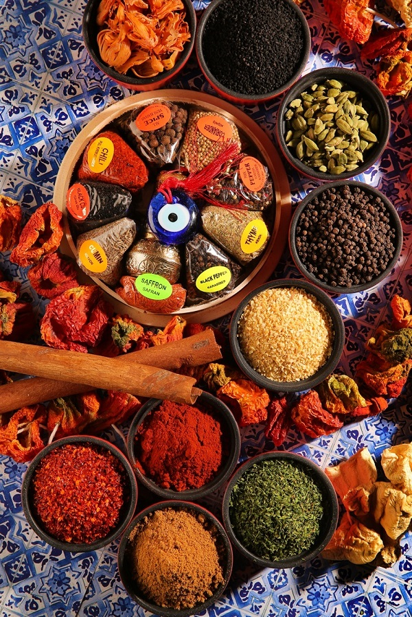 Imported spices bring Turkish flavors to the Malaysian city.