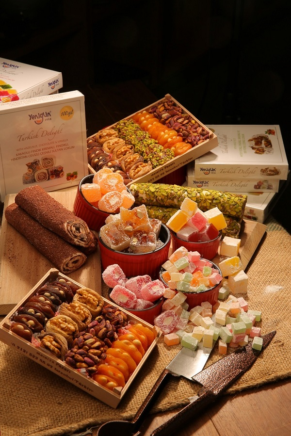 Special hampers of Turkish delight will be sold at Ben's.