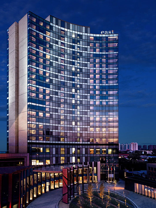 Beijing is home to the second East property by Swire hotels.