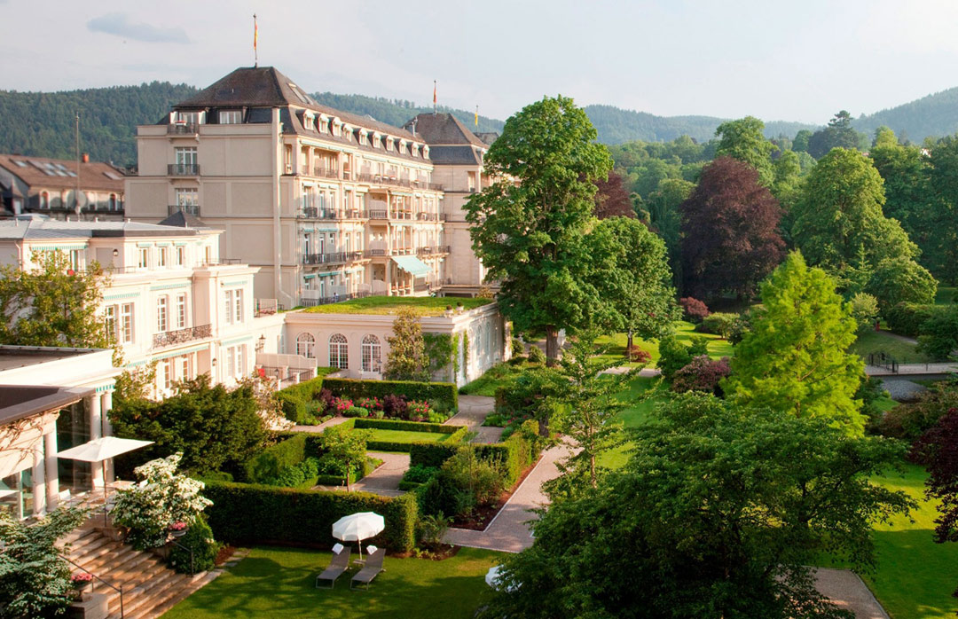 Brenners Park-Hotel & Spa in Baden Baden, Germany.