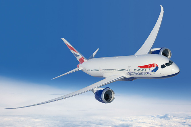 Photo courtesy of British Airways