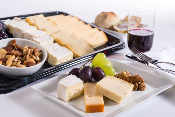 The beer and cheese selection is from the Belgian province of West Flanders.